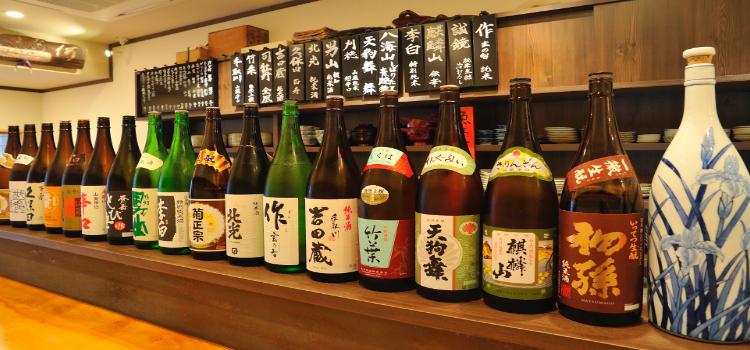 立ち吞み「三ぶん」の<br /> 日本酒